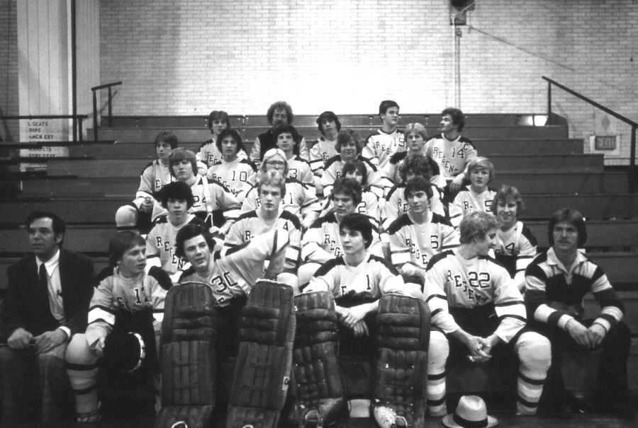 1980 Hockey Team - Photo by Dick Gruber